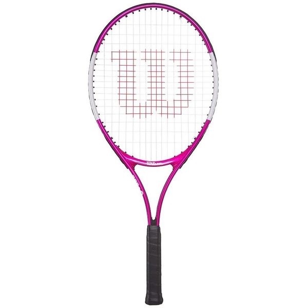 Wilson Ultra Pink Junior Tennis Racket - 23 Inch