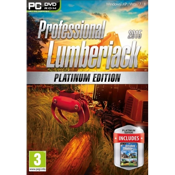Professional Lumberjack 2015 Platinum Edition PC Game
