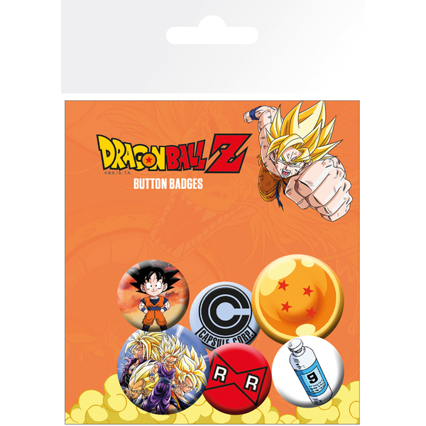 Dragon Ball Z Mix Badge Pack