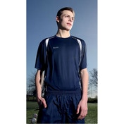 Precision Ultimate Moisture Management Tee Navy/White 34-36inch