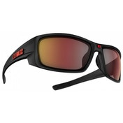 Bliz Rider Black Rubber Smoke w Red Multi