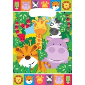 Amscan Jungle Animals Party Loot Bags