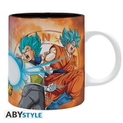 Dragon Ball Super - Saiyans Vs Frieza Mug