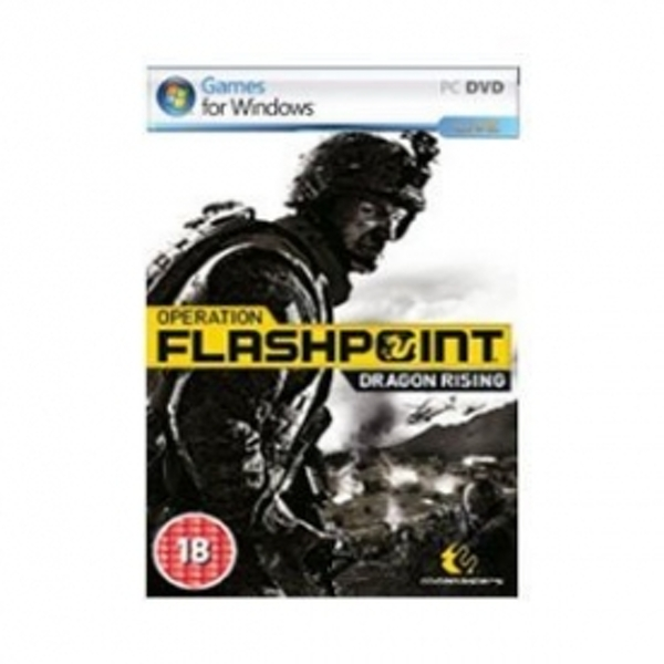 Ex-Display Operation Flashpoint Dragon Rising Game PC Used - Like New