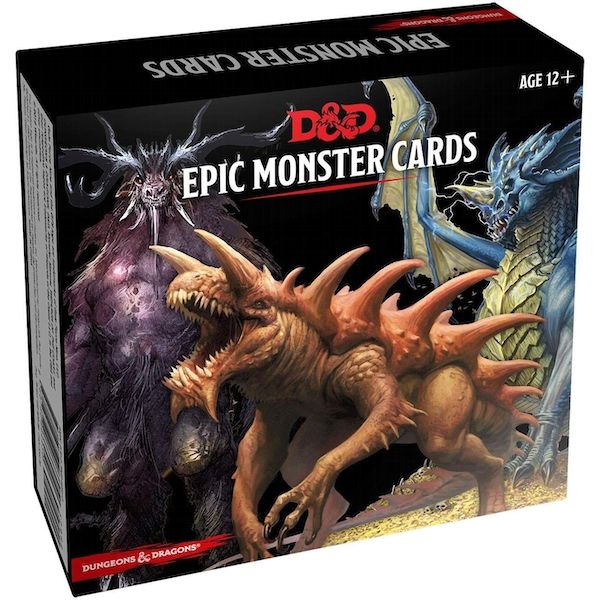 Dungeons & Dragons Monster Cards: Epic Monsters