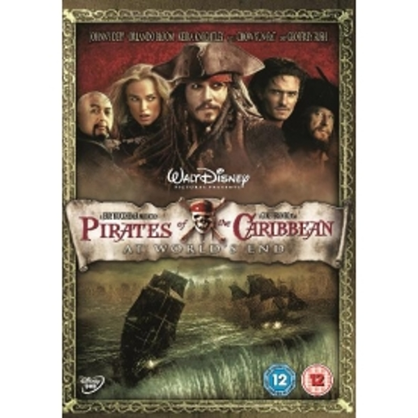 Pirates Of The Caribbean: At Worlds End DVD
