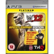 WWE 12 WrestleMania Edition Game (Platinum) PS3