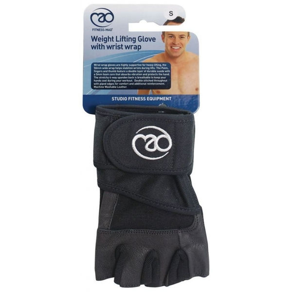 Fitness-Mad Weight Wrist Wrap Gloves Size S