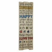 Wood Colourful Sign You Are My Sunshine by Heaven Sends