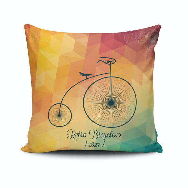 NKLF-137 Multicolor Cushion Cover
