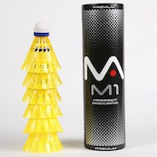 MANTIS M1 Premium Synthetic Shuttles - Yellow 78 - Tube of 6