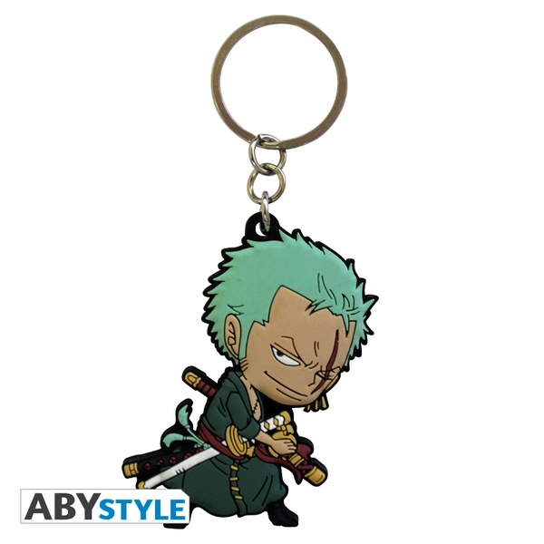 One Piece - Zoro Sd PVC Keyring