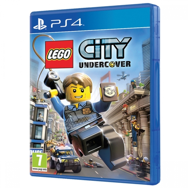 lego city undercover ps4 jeu. Black Bedroom Furniture Sets. Home Design Ideas