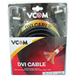 VCOM DVI-D (M) to DVI-D (M) 3m Black Retail Packaged Display Cable - Image 2