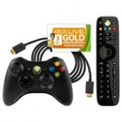 Official Microsoft Essentials Pack (Controller, Remote, HDMI + 3 Months) Xbox 360