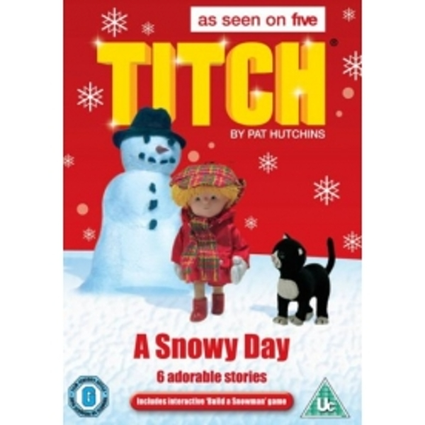 Titch: A Snowy Day DVD