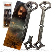 The Hobbit Thorin Oakenshield's Key Pen and Paper Bookmark