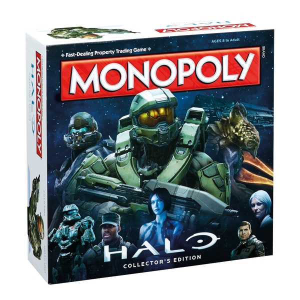 Halo Monopoly Collector's Edition Board Game