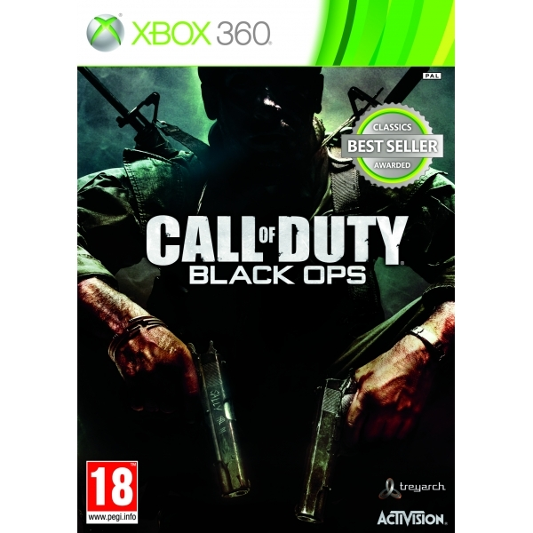 Call of Duty 7 Black Ops (Classics) Game Xbox 360
