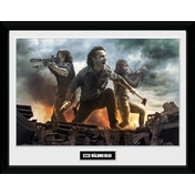 The Walking Dead Fire Collector Print