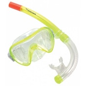 Divetech Atlantis Youths Mask & Snorkel Yellow