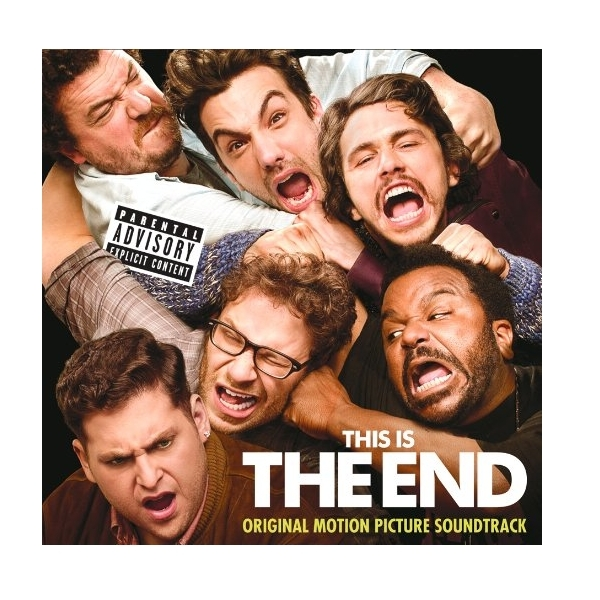 This Is The End Original Motion Picture Soundtrack Explicit Lyrics CD