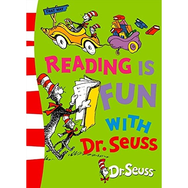 Reading is Fun with Dr. Seuss by Dr. Seuss (Paperback, 2004)