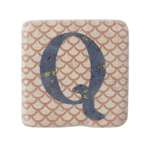 Letter Q Coasters By Heaven Sends