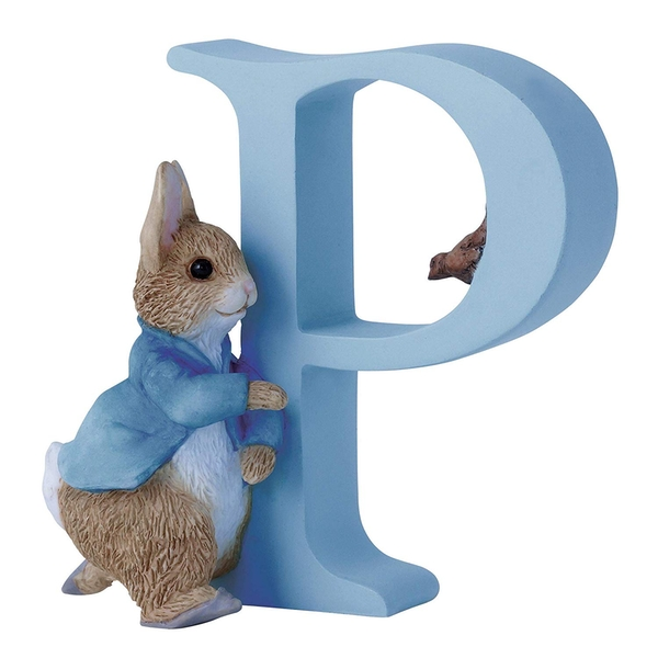 Running Peter Rabbit - Letter P