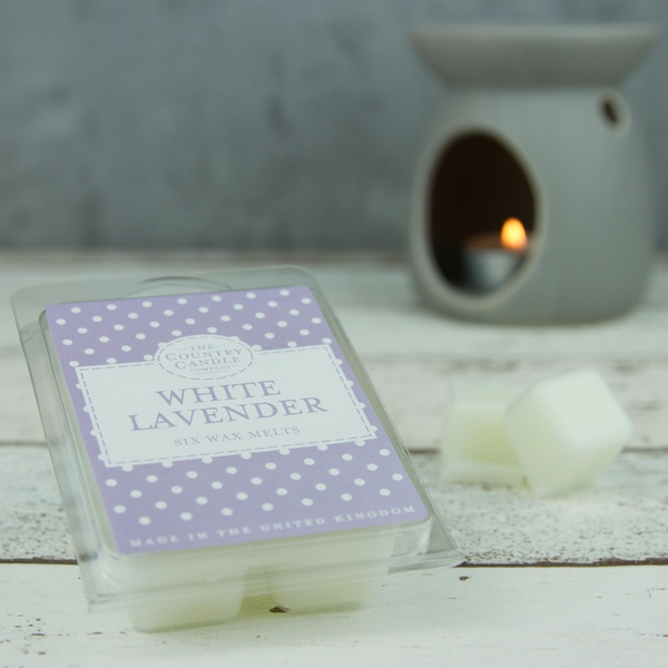 White Lavender (Polka Dot Collection) Wax Melt