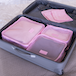 Suitcase Luggage Packing Cubes | Pukkr Pink - Image 6