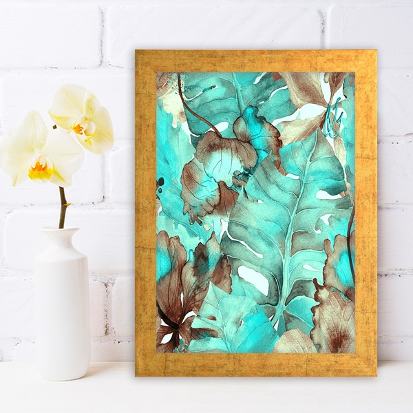 AC1082305175 Multicolor Decorative Framed MDF Painting