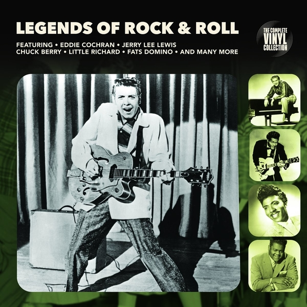 Various Artists - Legends Of Rock & Roll Vinyl