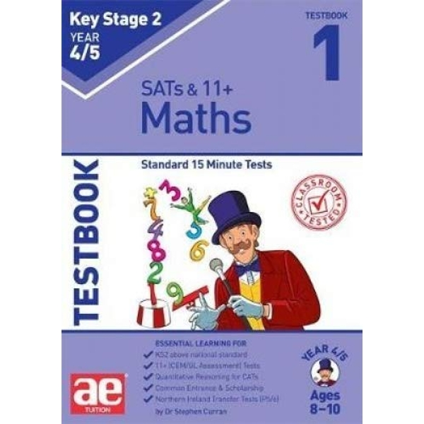 KS2 Maths Year 4/5 Testbook 1 Standard 15 Minute Tests Paperback / softback 2018