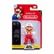 "Fire Mario (Super Mario) World Of Nintendo 2.5"" Action Figure - Image 2"