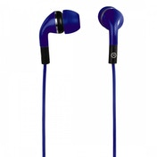 Flip In-Ear Stereo Earphones (Blue)