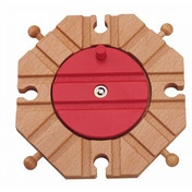 Wooden Railway Eight Way Turntable