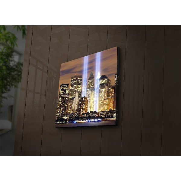 4040?ACT-52 Multicolor Decorative Led Lighted Canvas Painting