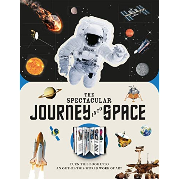 Paperscapes: The Spectacular Journey into Space  Hardback 2019