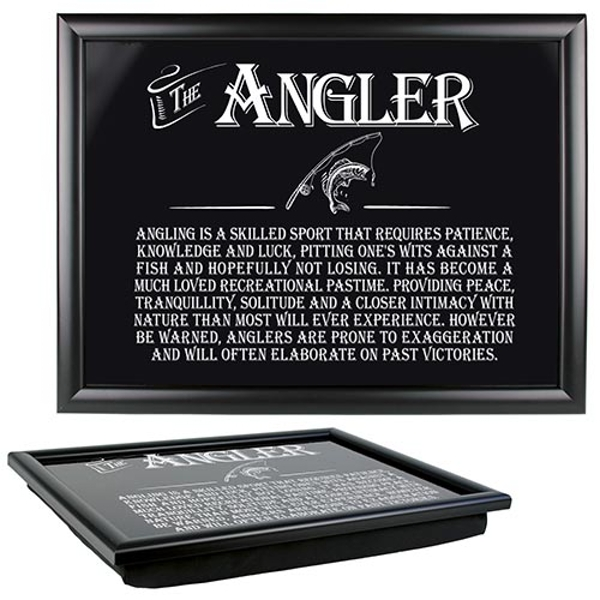 Ultimate Gift for Man Lap Trays Angler