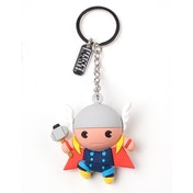 Marvel Comics Thor Character 3D Pendant Rubber Keychain