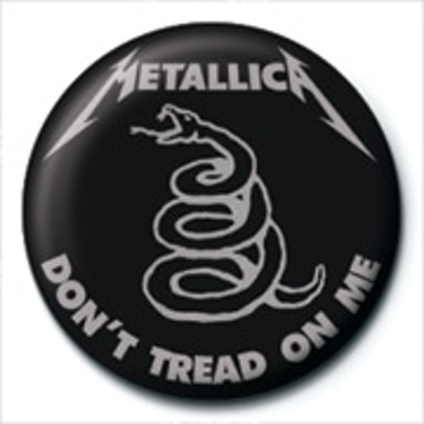 Metallica - Don't Tread On Me Badge