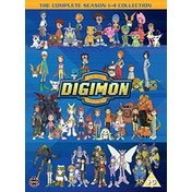 Digimon: Digital Monsters Season 1-4 Boxset DVD