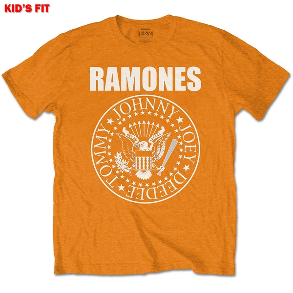 Ramones - Presidential Seal Kids 7 - 8 Years T-Shirt - Orange