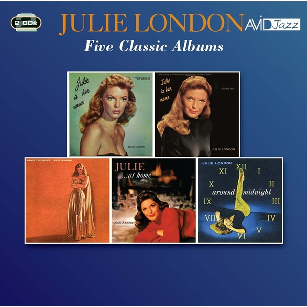 Julie London - Five Classic Albums CD