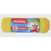 Rochley Standard Yellow Duster 6 Pack
