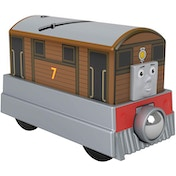 Thomas & Friends Small Engine Toby Wooden Figure