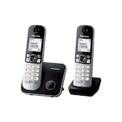 Panasonic KX-TG6812EB Twin DECT Cordless Telephone Set UK Plug