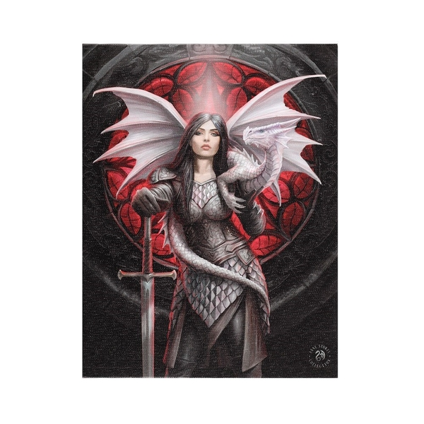 19x25 Valour Canvas by Anne Stokes