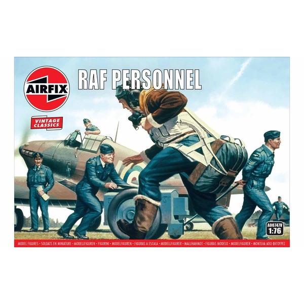 RAF Personnel 1:76 Air Fix Figures